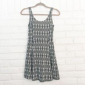Dresses - 🍁Blue/White Tank Sun Dress Size 4